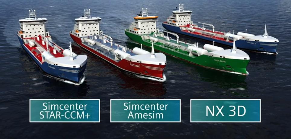 Wärtsilä create a digital twin using Simcenter