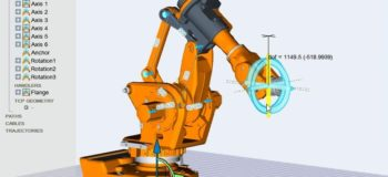 kineoworks parallel linkage simulation