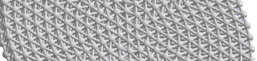 Lattice structures can be modeled with Parasolid v32.1
