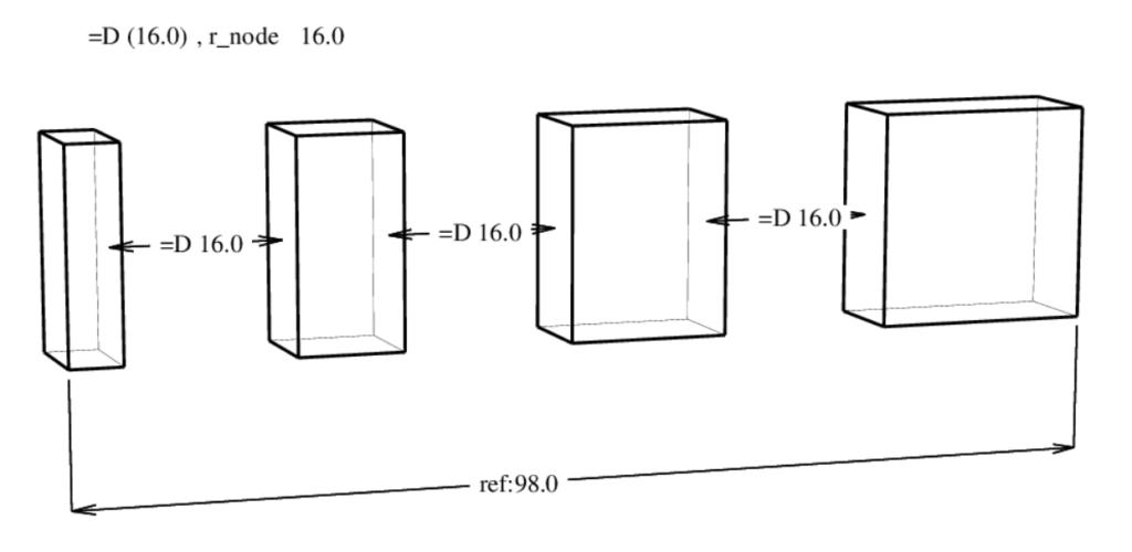 D-Cubed 3DDCM equal distance (2) version 57