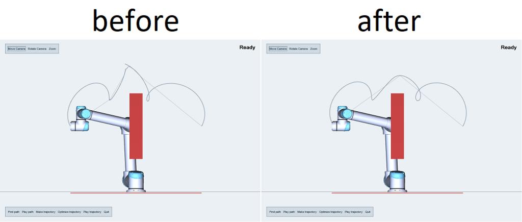 working with trajectories - kineo trajectory optimization
