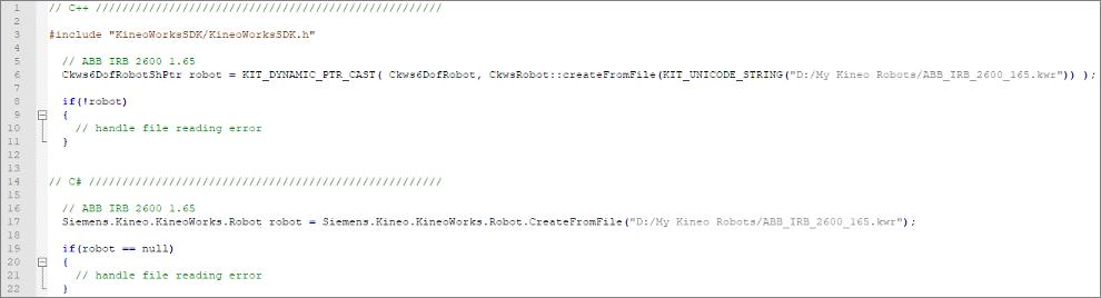 Kwik robot source code