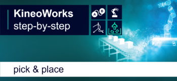 KineoWorks step-by-step #4: pick & place