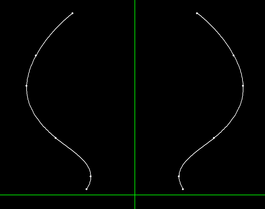dcubed 3DDCM models symmetric spline