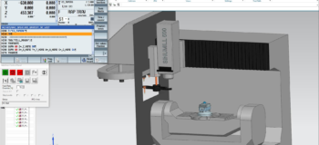 The Digital Twin for CNC training
