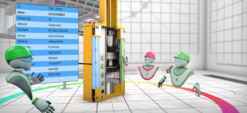 Vixel's Virtual Reality Solution for 3D building projects leverages JT