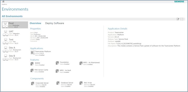 3 - Deployability - Deployment Center_Teamcenter.png