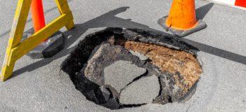 Black holes, Potholes, and Material Management Software