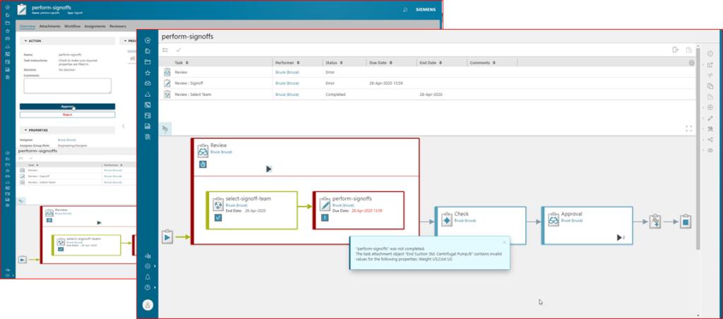 Capital asset information management screenshot