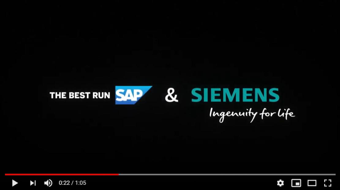 Siemens & SAP deliver