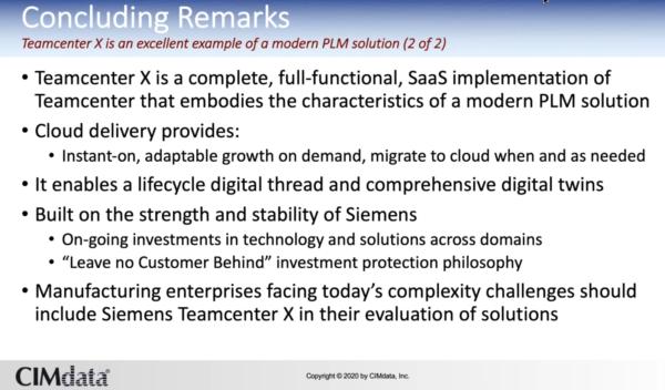 Teamcenter X - Benefits PLM Software