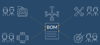 Bill of material BOM management across departments, disciplines, and domains