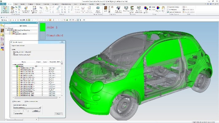 Navigate 3D models with Visual Reporting