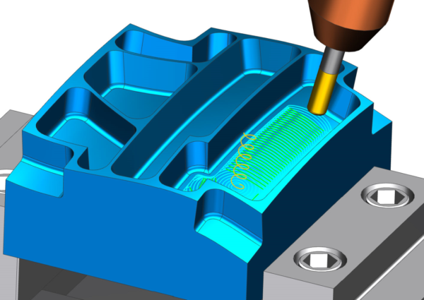 NX CAM - 5-Axis Adaptive Milling