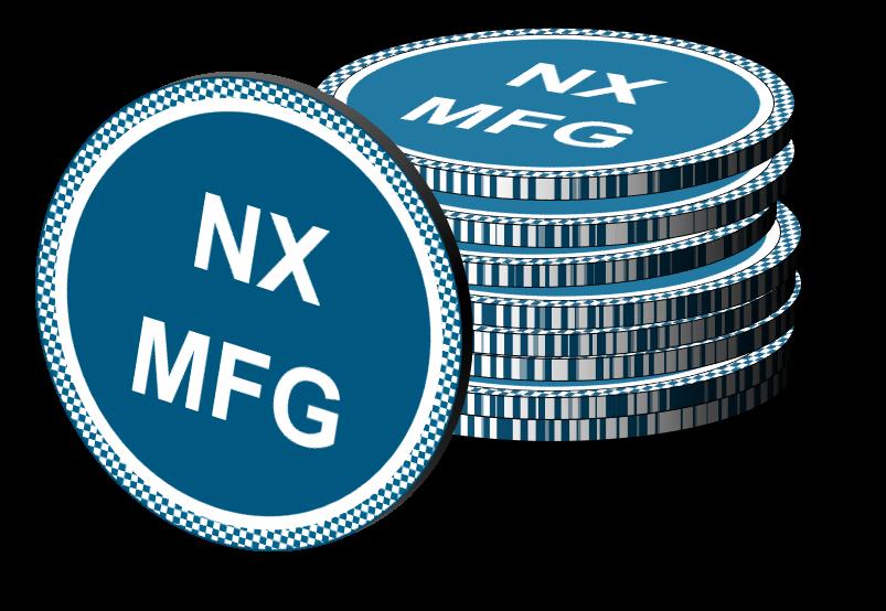 NX MFG License Tokens