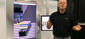 Virtual CNC Machining demonstration
