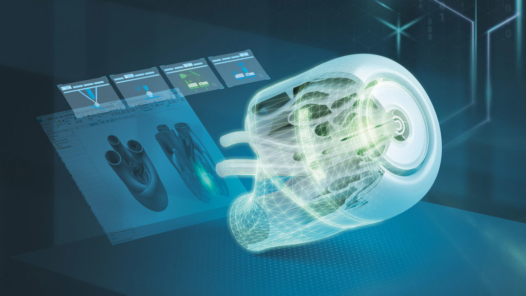 additive manufacturing comprehensive digital twin improves performance by simulation design through production