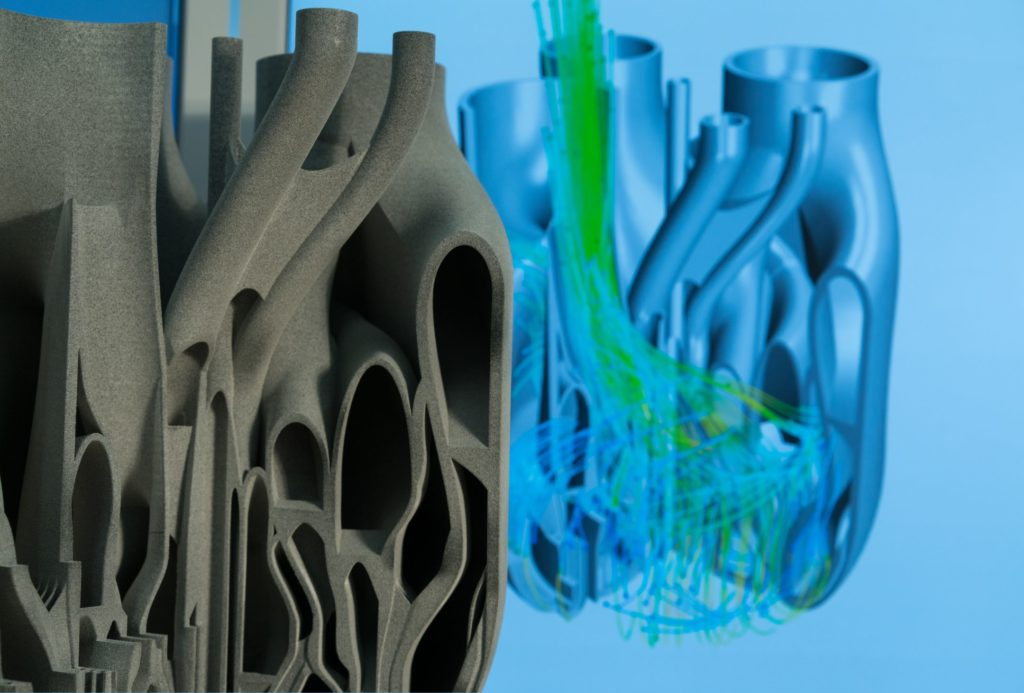 Additive manufacturing is flexible and supports new design philosophies