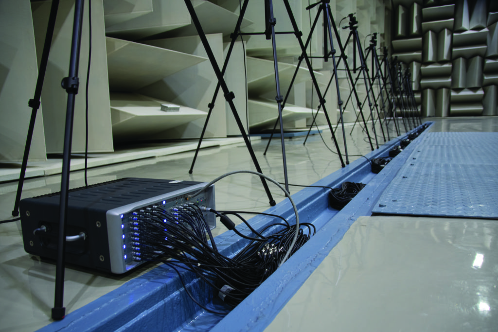Large microphone array