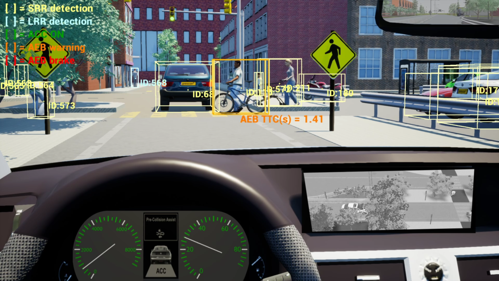 Simulation software for autonomous vehicle development / testing and validating ADAS and autonomous driving systems.