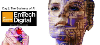Day 1: The business of AI @ the MIT Technology Review EmTech Digital Conference