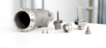 Aerospace components made with additive manufacturing (AM)