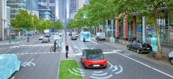 MBSE helps autonomous vehicle interacting with the world around it with sensors and communication