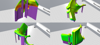 Print optimized for structural performance with print orientation