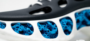 3D printing designed shoes