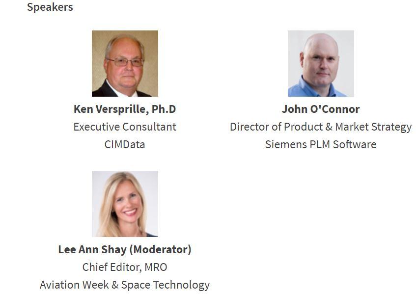 Speakers of Aviation Week's webinar.JPG
