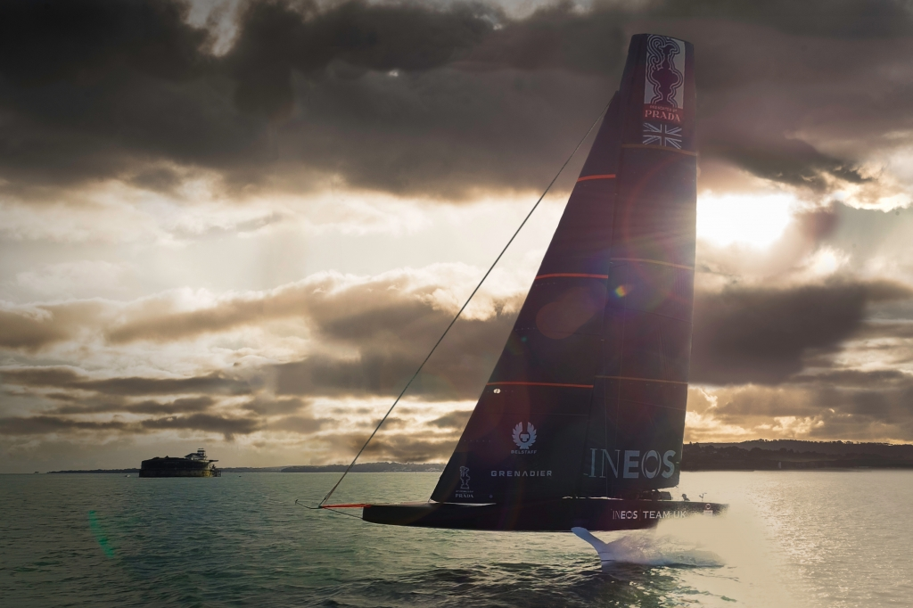 INEOS Team UK Preparing for America's Cup 2021