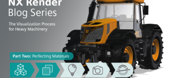 NX Render Blog Series: The Visualization Process for Heavy Equipment - part two