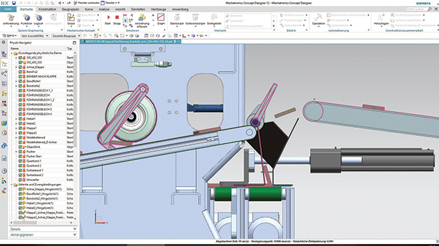 computer design simulating floorboard production