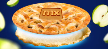 picture of pie with Mendix logo on top