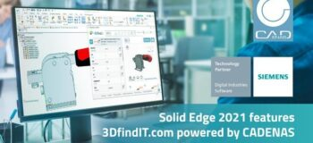 Find CAD models directly in Solid Edge® 2021