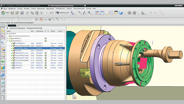 Siemens software application