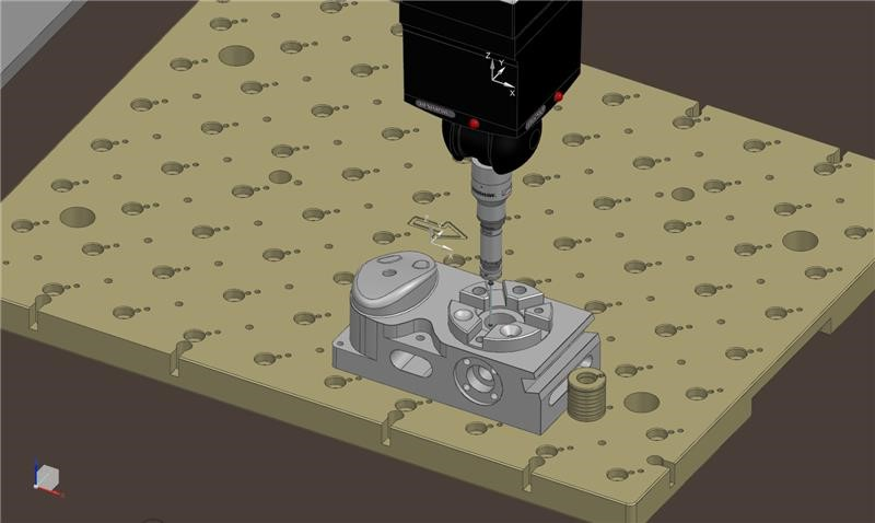 machinery showing NX CMM software