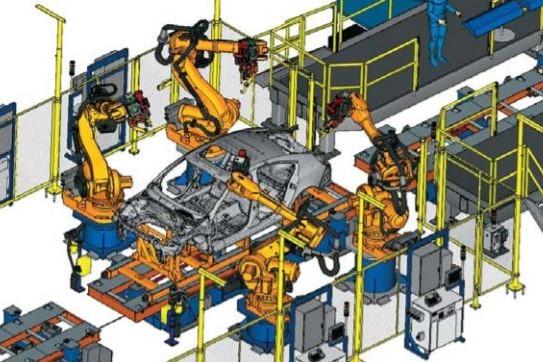 diagram of process simulate software model
