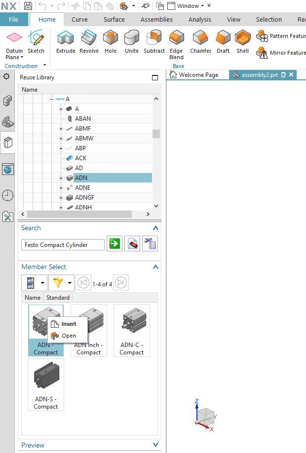 CADENAS Reuse Library for NX
