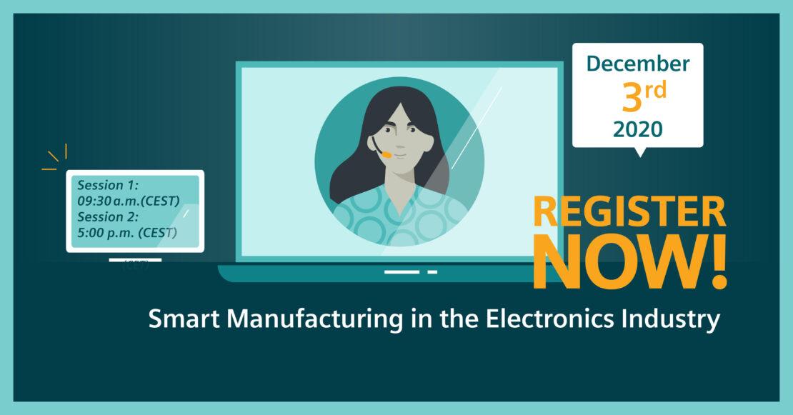 Smart Manufacturing Electronics webinar