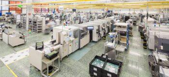 BMK shop floor PCB assembly SMT Line