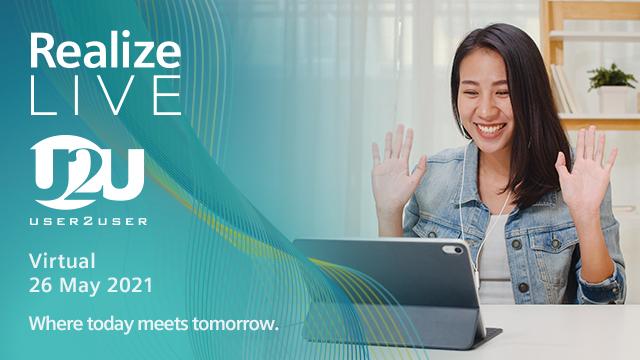 Siemens Realize Live U2U event 2021