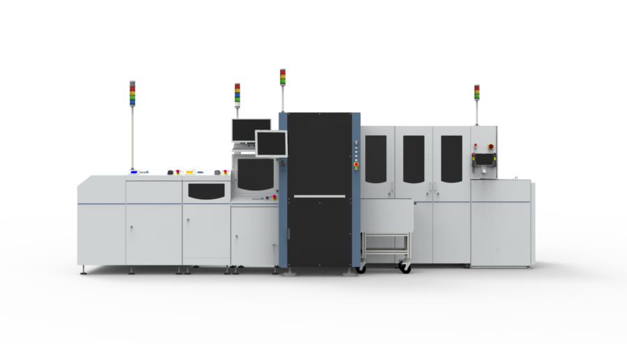 Digital twin PCB assembly electronics manufacturing