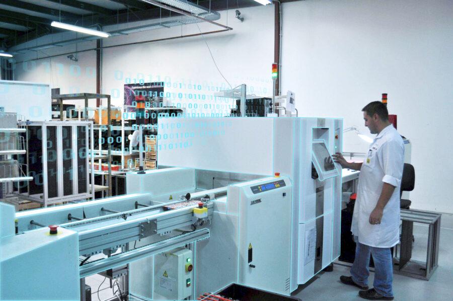 SMT assembly digitalization virtual tour