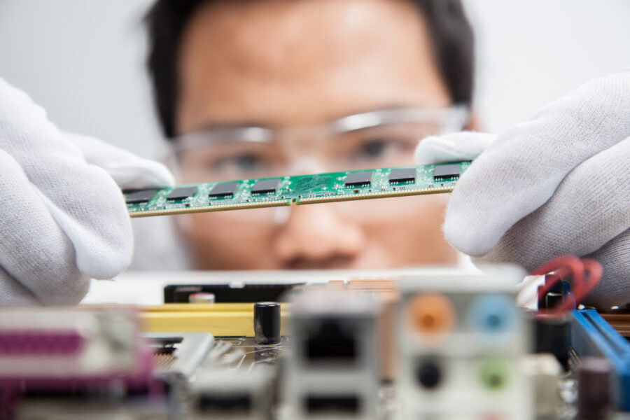 Manual processes in electronics manufacturing
