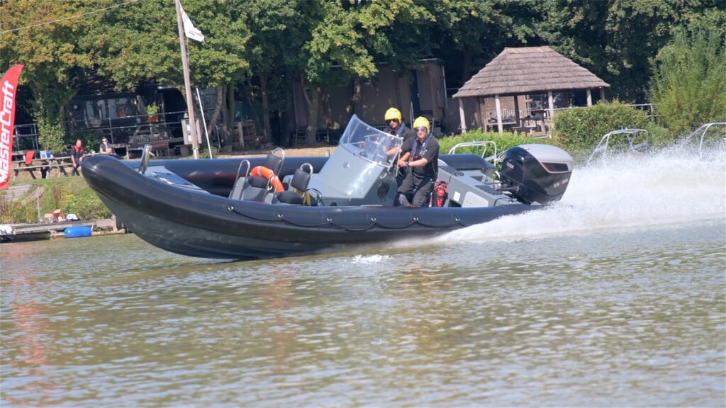 The CXO300 from Cox Marine during a test run. Summer 2019.