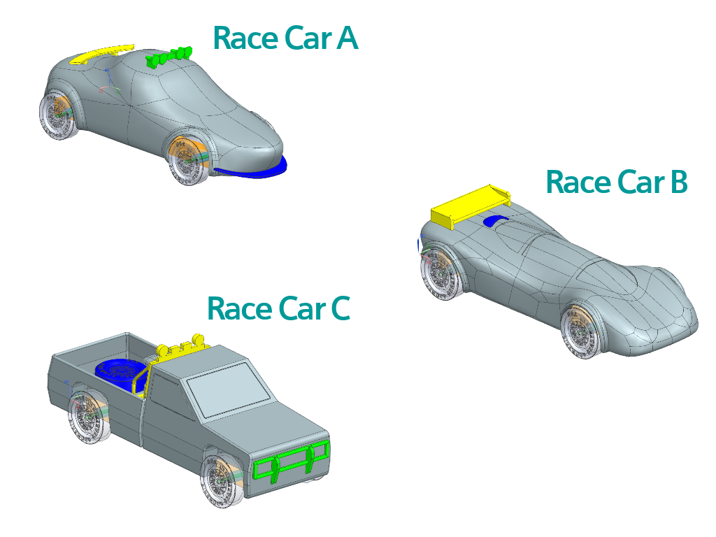 3D Printable Car Models