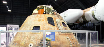 The Apollo 15 Command Module in the National Museum of the US Air Force