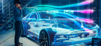 Digitalization helps companies adapt to COVID-19 restrictions, such as with AR and VR for vehicle design.