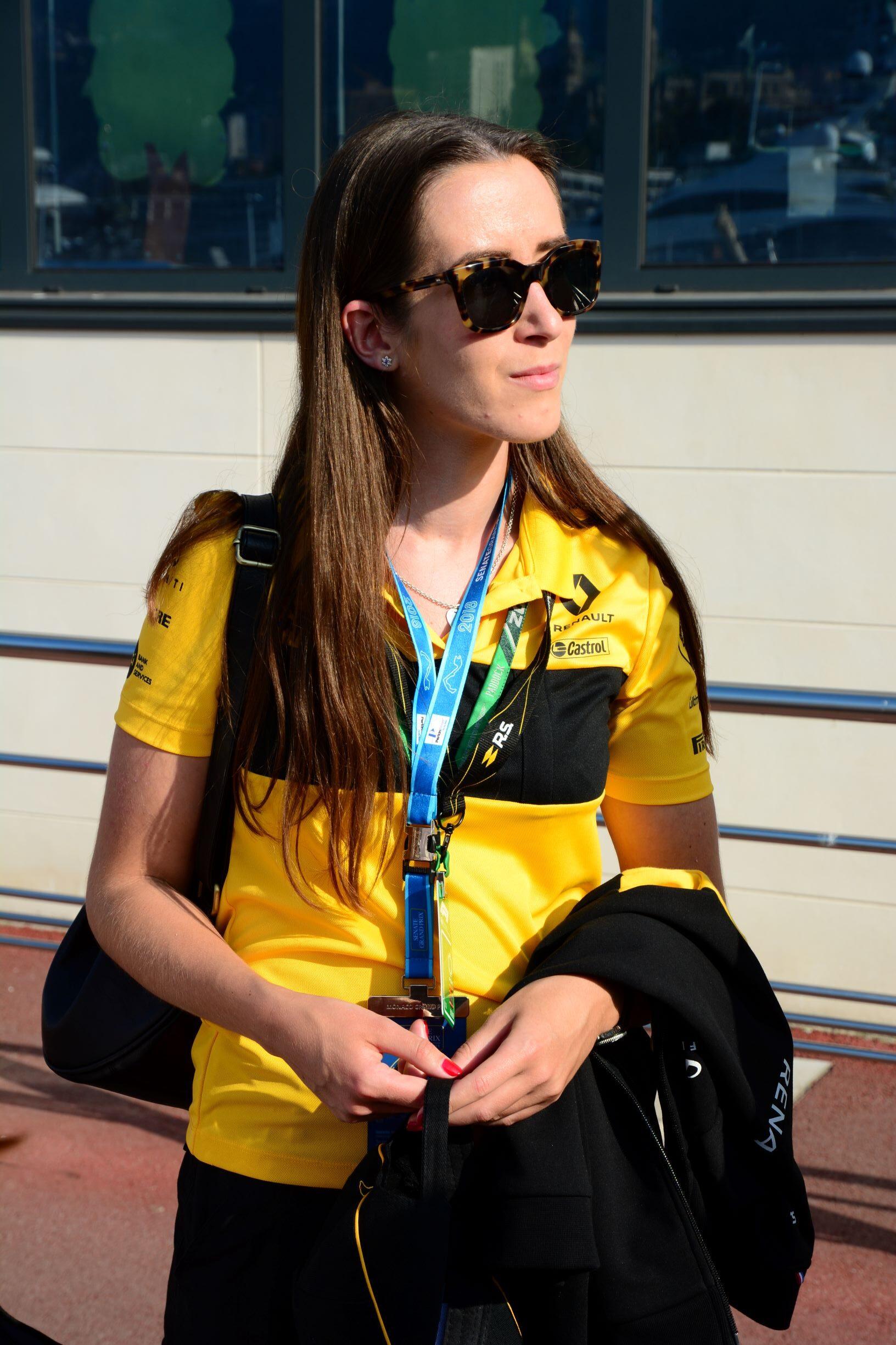 Elizabeth Apthorp, Composite Design Engineer Alpine F1 Team